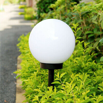 LED Solar Power Outdoor Garden Path Yard Ball Light Lamp Lawn Road Patio Durable