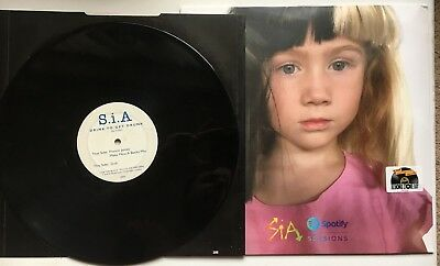 SIA - SPOTIFY SESSIONS SEALED + DRINK TO GET DRUNK RARE 2 X RECORD Store Day