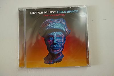 Simple Minds - Celebrate The Collection Best Of *Sealed* Cd Album