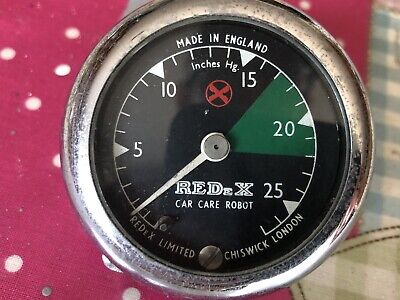 Redex Car Care Vacuum Gauge