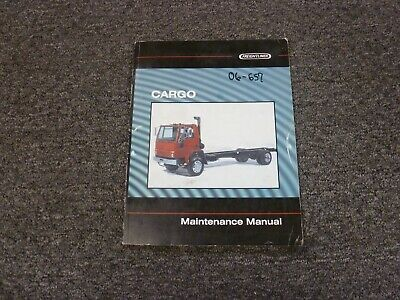 1998 Freightliner Cargo FC60 FC70 FC80 Truck Shop Service Maintenance Manual
