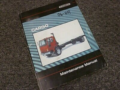 2000 Freightliner Cargo FC60 FC70 FC80 Truck Shop Service Maintenance Manual