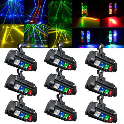 8-LED 120W RGBW Spider Beam Moving Head Stage Lighting DMX Party DJ Pub LOT MY