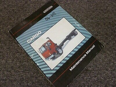 2003 Freightliner Cargo FC60 FC70 FC80 Truck Shop Service Maintenance Manual
