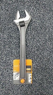 """Brand New Bahco 8074 15"""" Phosphate Adjustable Wrench 0-44mm"""