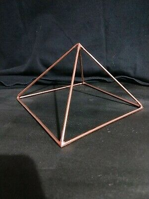 COPPER PYRAMID FOR meditation and energy channeling