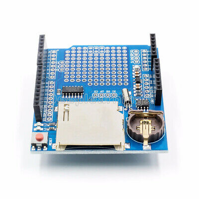 SD LOGGER SHIELD with RTC (Real-Time-Clock), 3 3V-5V Arduino