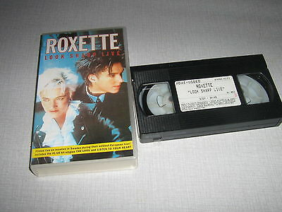 Roxette K7 Video - Look Sharp Live