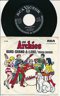 "The Archies 45 Tours 7"" Germany Truck Driver"