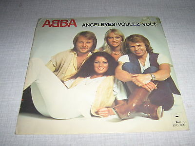 Abba 45 Tours Uk Angeleyes