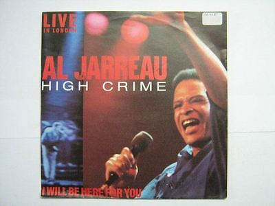 Al Jarreau 45 Tours Germany High Crime