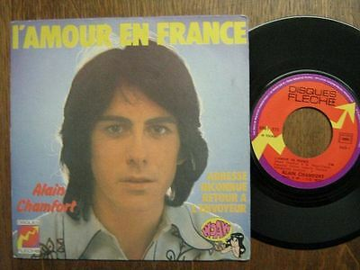 Alain Chamfort 45 Tours France L'amour En France