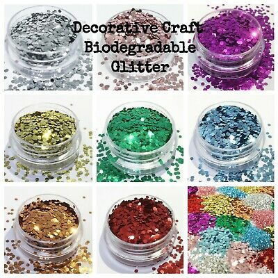 Biodegradable Glitter Decorative Craft schools Eco Bulk packs Vegan eco glitter
