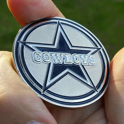PREMIUM NFL Dallas Cowboys Poker Guard Card Chip Protector Golf Marker Coin