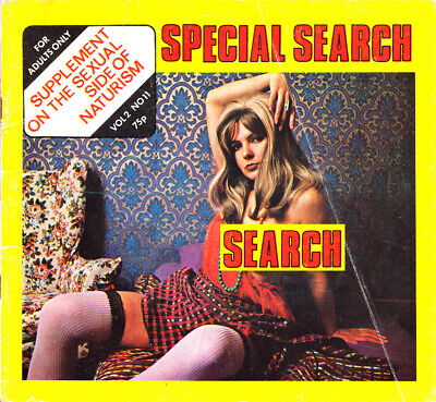 Special Search 2 Number 11 - Vintage mens magazine