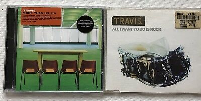 Travis - More Than Us Ep Cd + All I Want To Do Is Cd Singles