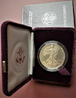 1988 1 oz Proof Silver Bullion American Eagle (Brilliant Uncirculated)