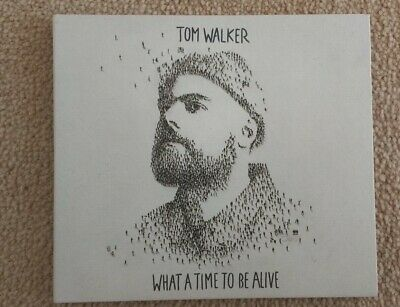 Tom Walker - What A Time To Be Alive CD Comes In Card Digipak