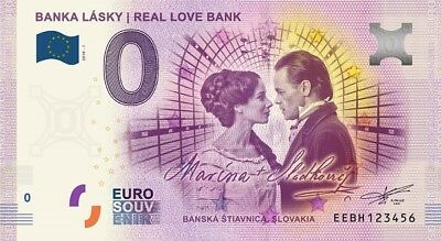 Billet Touristique 0 Euro ---  Banka Lasky - Real Love Bank 2018-1