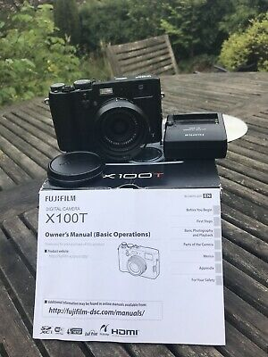 FUJIFILM  X100T - BOXED With Paperwork And JJC Lens Hood
