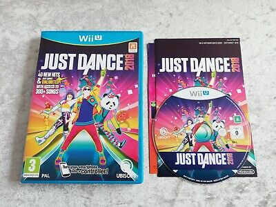 Just Dance 2018 (Nintendo Wii U) Great Game in Excellent Condition