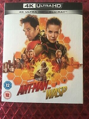 ANT-MAN AND THE WASP 4K / Blu-Ray, Comes With Outer Card-slip