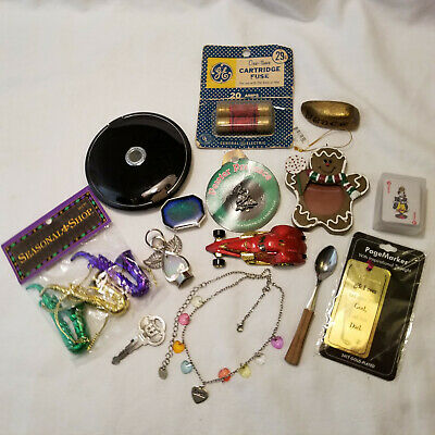 Junk Drawer Lot Vintage to Current Items Misc Stuff Fuses car Etc
