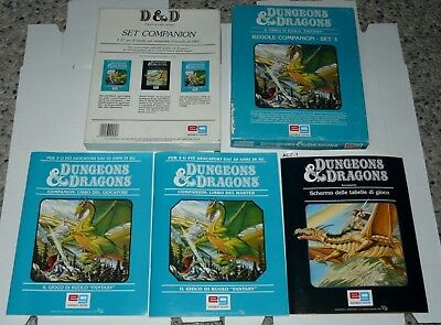 DUNGEONS AND DRAGONS D&D Gioco Di Ruolo Manuali multilisting GDR PRIMA TERZA 3.5