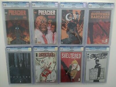 Amazing Lot of KEYS 1st Apps CGC's No1s Marvel DC Image SpiderGwen Preacher.more