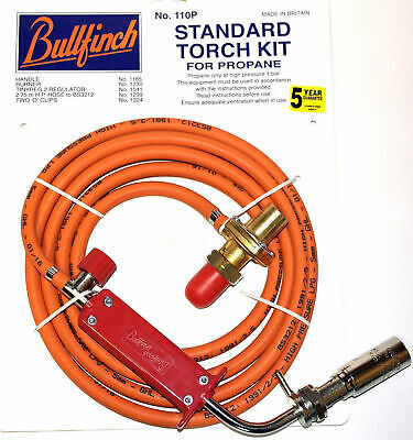 Bullfinch 110p Standard Plumbers Blow Torch Kit for Propane gas new in packaging