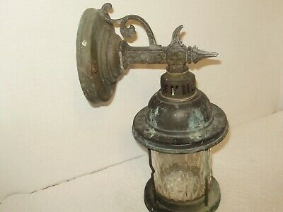 Antique Copper Arts  And Craft Outdoor Light Fixture # 1608