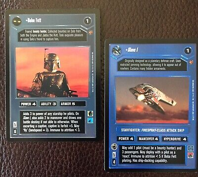 Star Wars CCG Enhanced Cloud City Crush The Rebellion