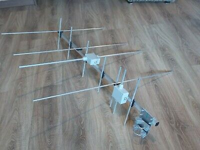 4+7 el cross band YAGI  for 2m and 70cm (144-146 and 430-440 MHz) Socket- 2xUC1.