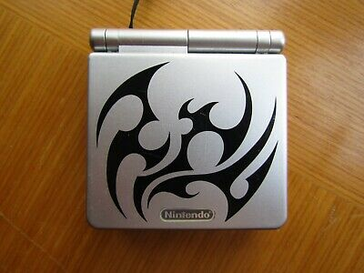Game Boy Advance SP Tribal Limited Edition - Silver