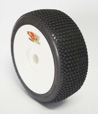 "Gomme Tire 1/8 BUGGY SP RACING "" RICKY "" version SPORT incollate SP00035"