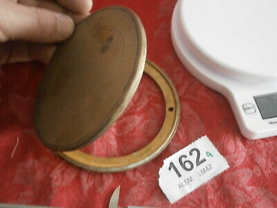 French clock Case BACK DOOR movement holder dust mantle clock German No.162A