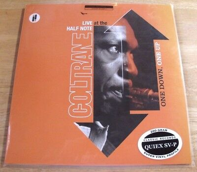 Classic Records Impulse John Coltrane One Down One Up 200G 2LP NEW Audiophile
