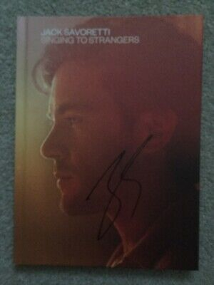 Jack Savoretti - Singing To Strangers (Deluxe Edition CD + Photo Book,SIGNED)