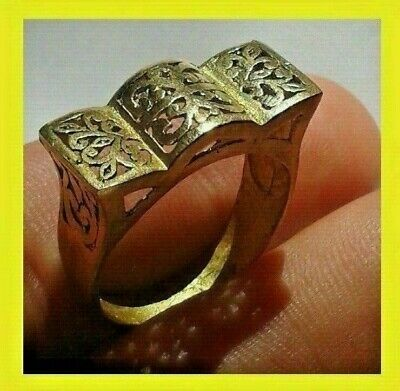 EXTREMELY Ancient VIKING BRONZE RING museum quality ARTIFACT
