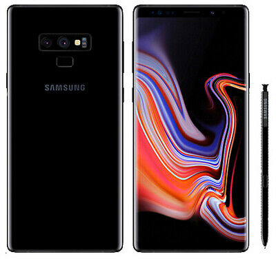 UNLOCKED (AT&T) Samsung Galaxy Note9 512GB Midnight Black - Bundle - For Any GSM