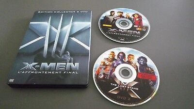 Coffret Steelbook métal  collector 2 DVD - X-MEN -L AFRONTEMENT FINAL- C. NEUF