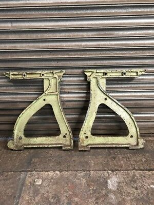 Cast Iron Machine Table Ends