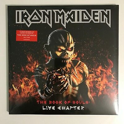 Iron Maiden - The Book Of Souls: Live Chapter 3LP Vinyl Record [NEW/SEALED]
