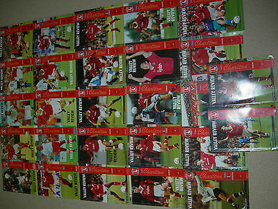 Charlton Athletic Choose One from 27 Home Programmes  - 1993 1994
