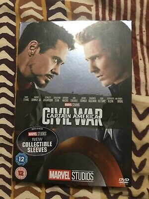 Marvel Captain America Civil War Dvd