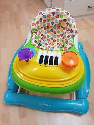 Mothercare 2-in-1 Musical Walker