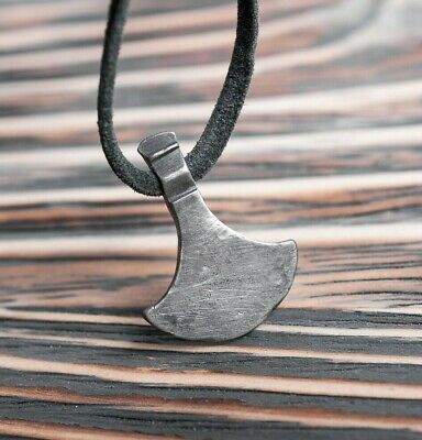 Unique Viking Silver Battle Axe Pendant, 9th-11th AD Century - Warrior Amulet