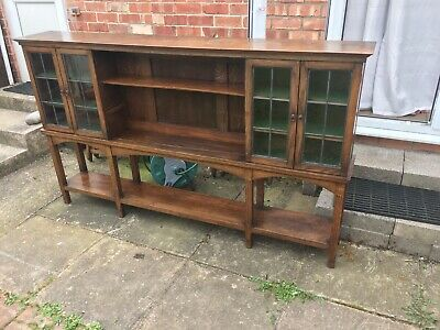 antique victorian cabinet and display unit