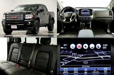 2018 Canyon 4X4 Denali GPS Leather Blacked Out Crew 4WD Like New Camera Navigation Midnight Edition Heated Cooled Seats 17 18 2018 19