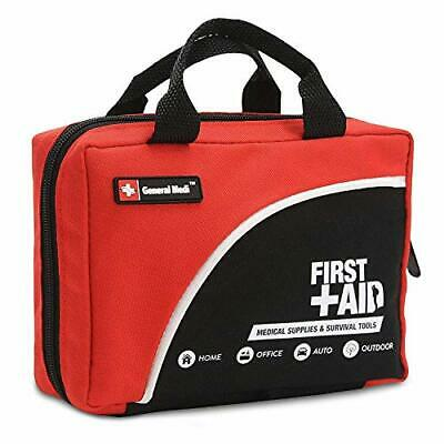 First Aid Kit For Medical Emergency - Strong Zipper Waterproof & Fully Stocked
